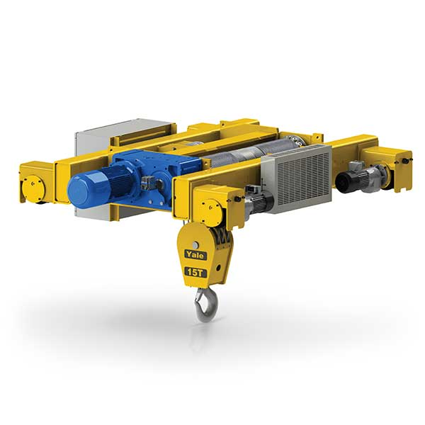 Shaw-Box 700 Series Electric Wire Rope Hoist and Trolley (Double ...