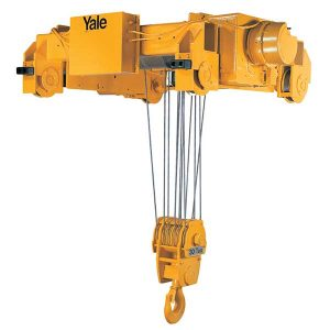 Shaw-Box 700 Series Electric Wire Rope Hoist and Trolley (Single ...