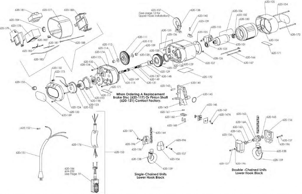 Cm Hoist Wiring Diagram 600lbs Diy Enthusiasts Wiring Diagrams